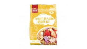 奇亚籽牛奶大果粒烘焙燕麦片