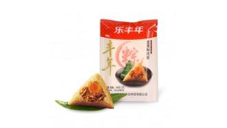 蛋黄鲜肉粽子